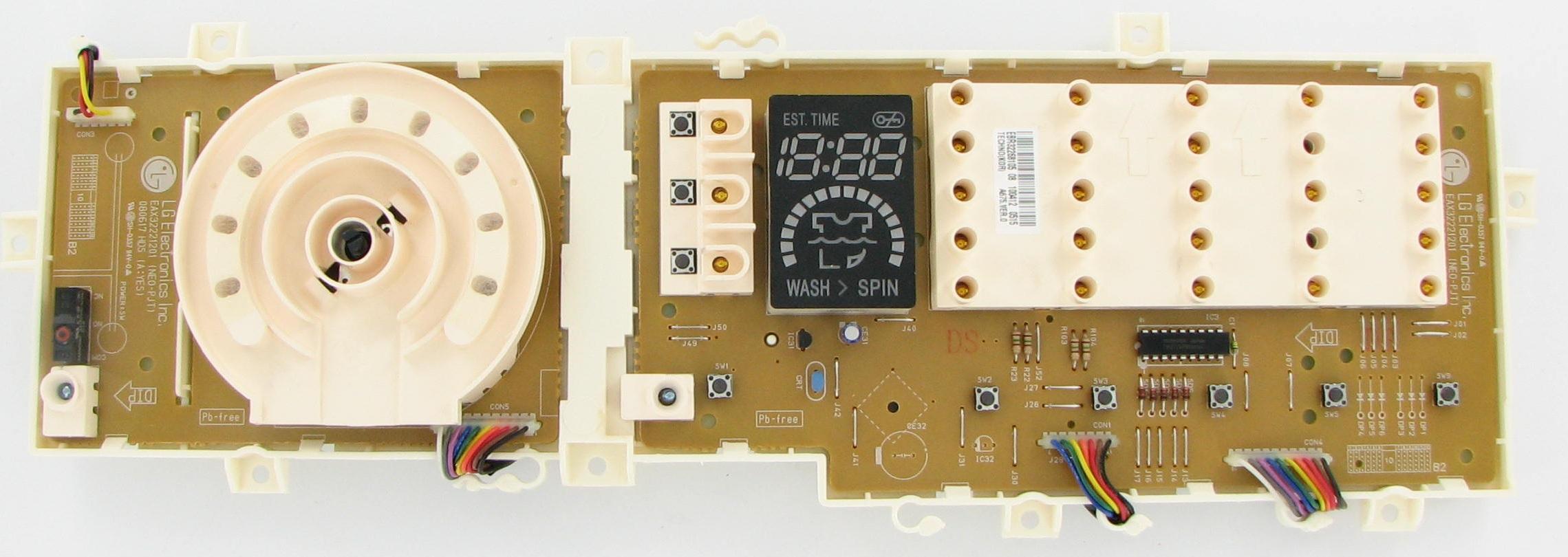 1A2 Lg Washer Control Board EBR36525154     Tested works great!